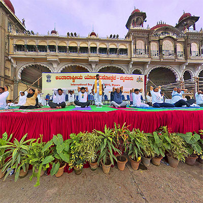 International Yoga Day Mysuru